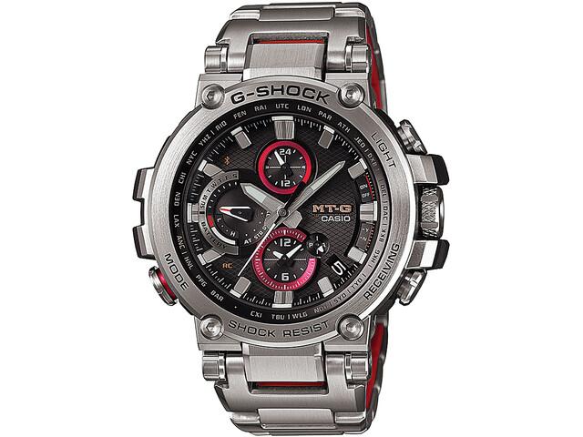 CASIO G-SHOCK MTG-B1000D-1AER Watch Men, silver/silver/black
